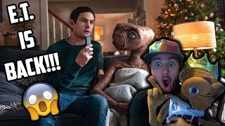 DIE HARD E.T. FAN REACTS TO A HOLIDAY REUNION E.T. XFINITY COMMERCIAL!