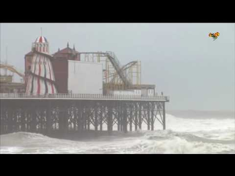 Stormen Angus har dragit över Storbritannien