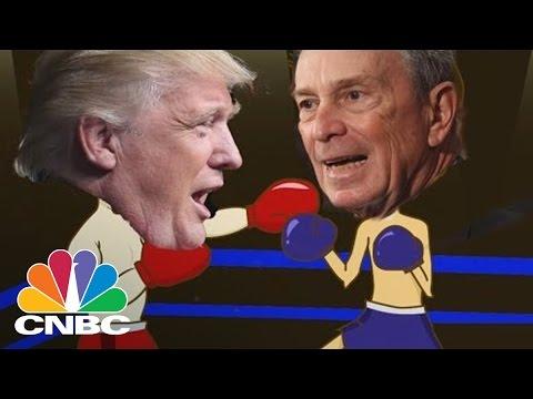 Battle Of The Billionaires: Donald Trump Vs. Michael Bloomberg   CNBC