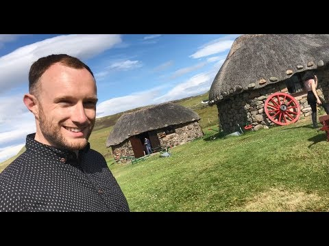 Meeting a Crofter on the Isle of Skye
