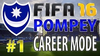 FIFA 16 | Portsmouth | RTG | Career Mode | #1 | Fratton Park