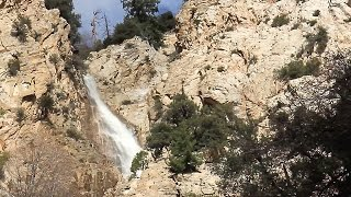 Big Falls at Forest Falls CA  in the San Bernardino National Forest