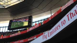 Watford Vs Arsenal FA Cup 6th Round goals and Away Fans