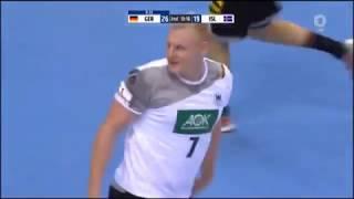 Fantastic Germany Skills | Handball | Germany vs Iceland | Preparations for EHF EURO 2018 Croatia