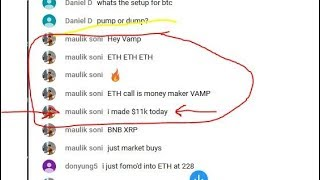 VAMP is on FIRE! (1) Member made $11K today! ETH/EOS/RVN/XRP/LINK