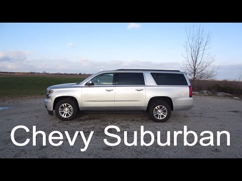 2018 Chevy Suburban LT Large 3-Row SUV | Full Rental Car Review