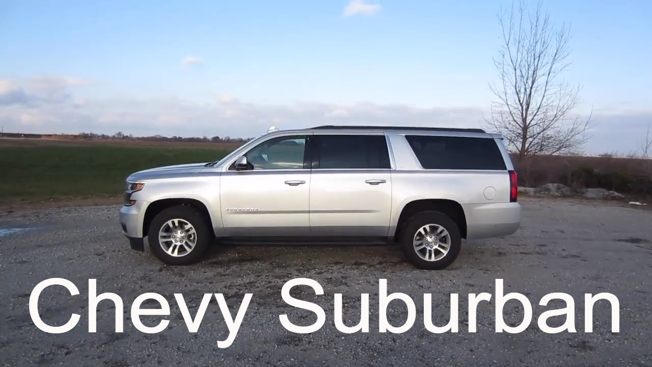 2018 Chevy Suburban LT Large 3-Row SUV | Full Rental Car ...