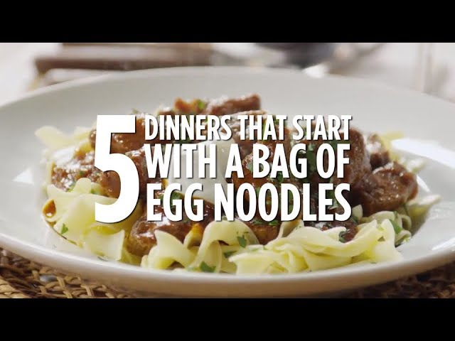 Top 5 Dinner Recipes With Egg Noodles Recipe Compilations Allrecipes Com Youtube
