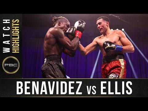 Давид Бенавидес – Рональд Эллис / David Benavidez vs. Ronald Ellis
