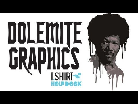 How to use image trace to make Tshirt illustrator CS6 DOLEMITE TEE