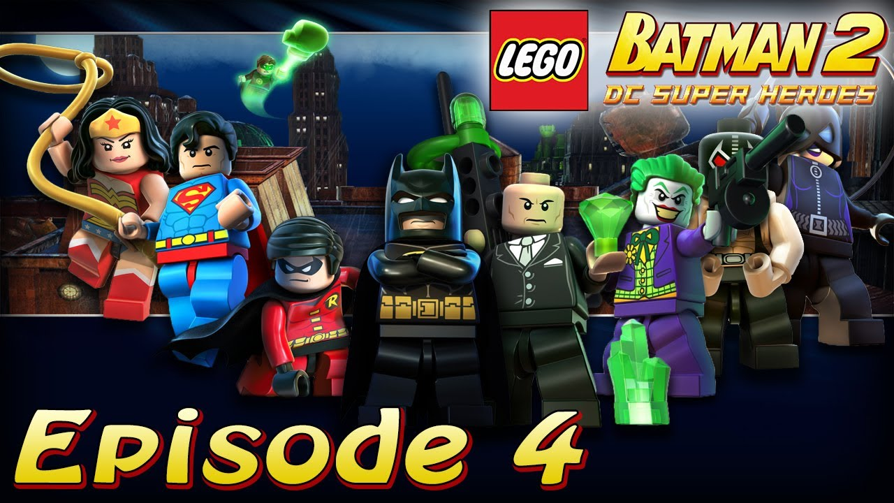 pisode 4 mission dans arkham s rie lego batman 2 dc super heroes youtube. Black Bedroom Furniture Sets. Home Design Ideas