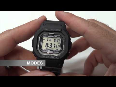 Video Review of Casio G-Shock GW-5000 in HD