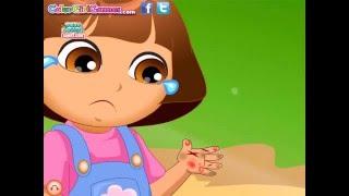 Dora the Explorer Dora Hand Arzt Pflege-Spiel für Kinder