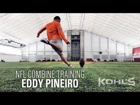 Eddy Pineiro | NFL Combine Kicker Training | Kohl's Kicking Camps