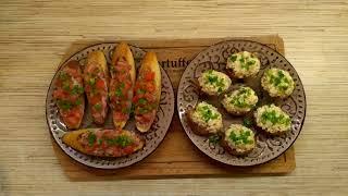 Быстрые бутерброды к праздничному столу