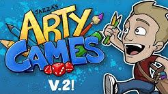JAZZA'S ARTY GAMES: V.2 - ALL NEW!!