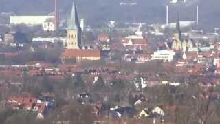 Osnabrück  Aussicht vom Franziskushospital