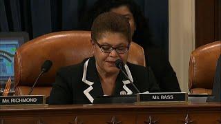 Late night impeachment debate in US Congress