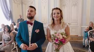 Свадебный фильм молодожен в Загсе на Фурштатской