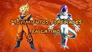 Goku & Freezer movimientos especiales mod latino