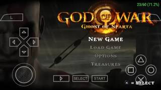God of war ghost of sparta best ppsspp setting