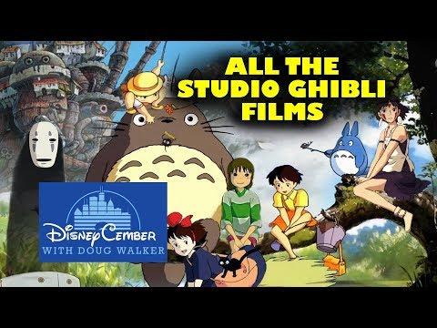 All the Disney Studio Ghibli Films – Disneycember