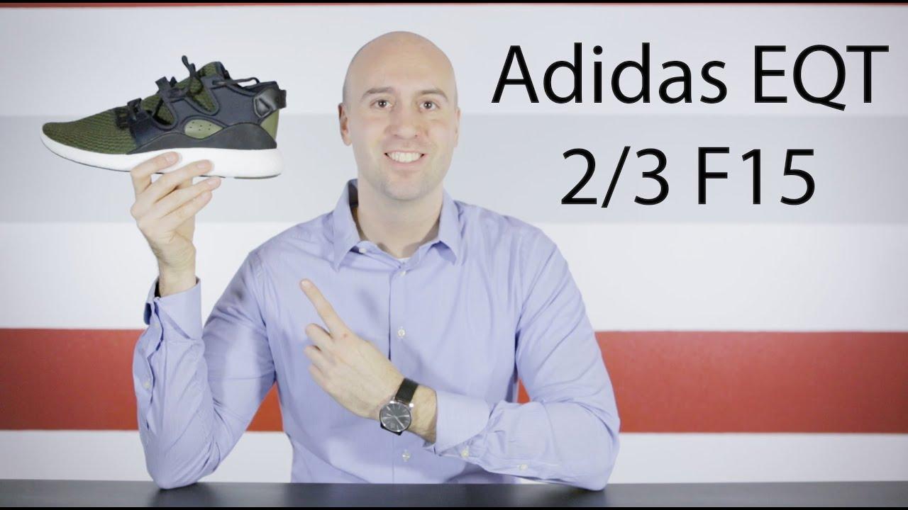 adidas eqt 2 / 3 f15 athl unboxing       in piedi vicino revisione