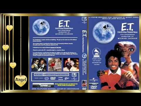 "E.T. The Extra-Terrestrial Audiobook * Narrated by ""Michael Jacks♥n"""