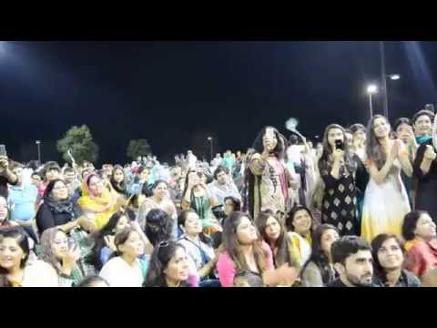 Rahim Shah Performing Live Song in Chicago (bloomingdale)