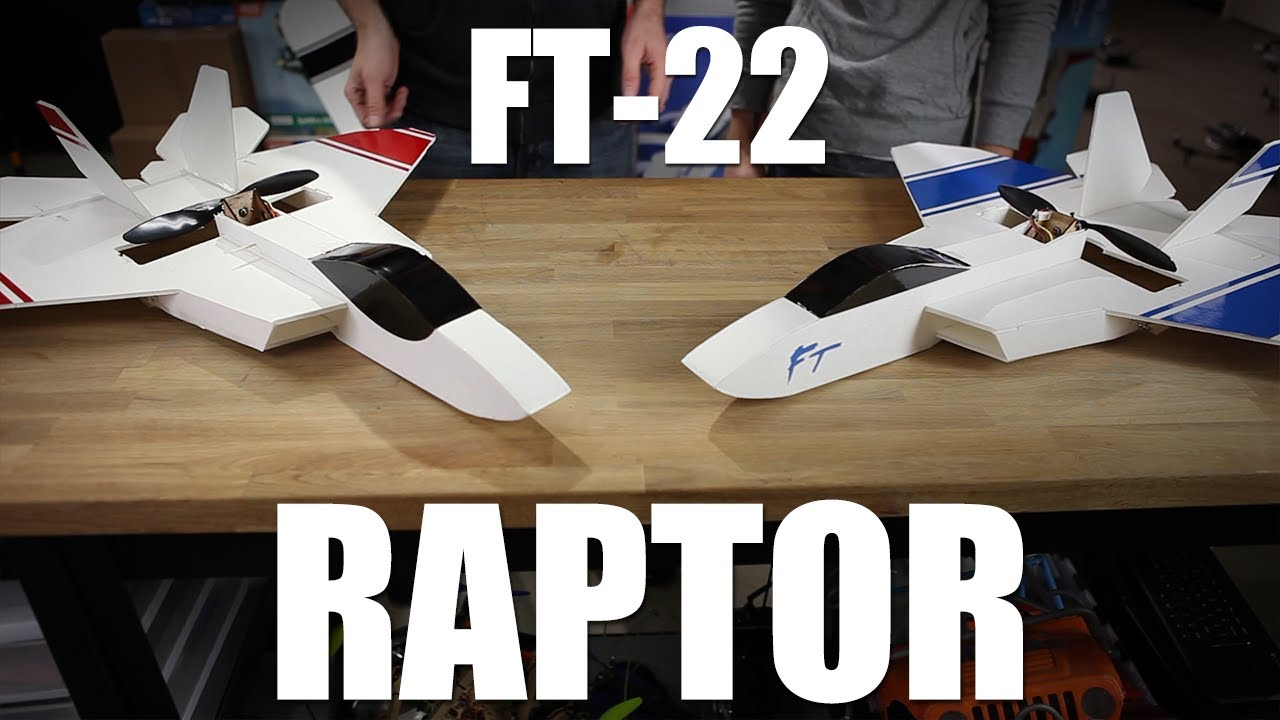 Flite Test Mighty Mini F-22 Raptor Kit FT4113