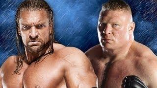 ~ Brock Lesnar vs Triple H ~ Highlights ~ HD WWE Summerslam 2012