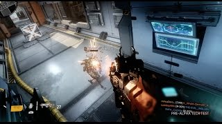 Titanfall 2 ALPHA - Pilots vs Pilots on Forwardbase Kodai | PS4 60fps