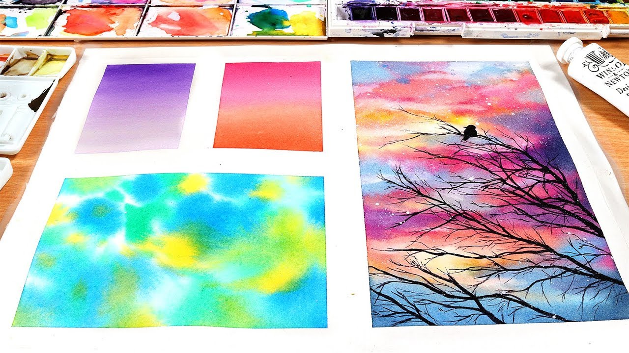 11 Easy Watercolor Techniques That Every Painter Needs To Know