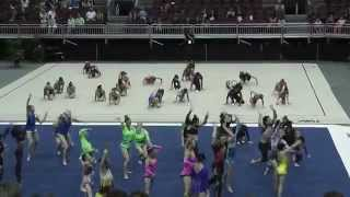 acroarmy performance at usa gymnastics annual championships part 2