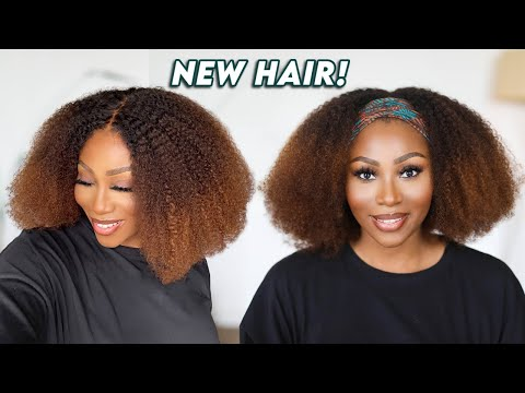I LOOK DIFFERENT! 😲   13x6 NATURAL HAIR WIG INSTALL   NO GLUE, NO BLEACHING NEEDED!!