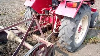 Potato Digger Machine Demonstration in India