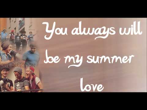 Summer Love - One Direction (LYRICS + PICTURES) HD