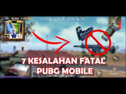 7 KESALAHAN FATAL!!! BANYAK ORANG TIDAK TAU - PUBG MOBILE TUTORIAL