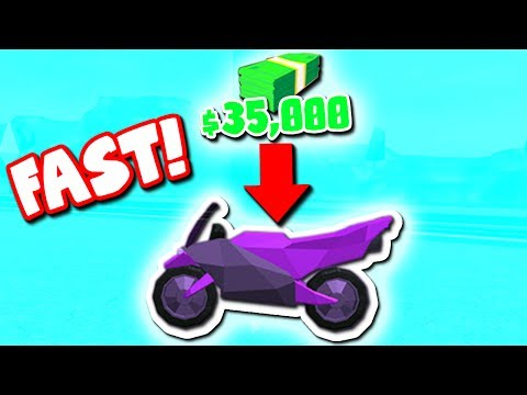 How To Get The New Motorcycle Roblox Jailbreak Youtube - roblox motorcycle shirt green