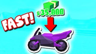 HOW TO GET THE NEW MOTORCYCLE (Roblox Jailbreak)