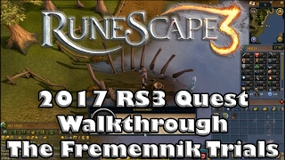 RS3 Quest Guide - The Fremennik Trials - 2017 (Up to Date!)