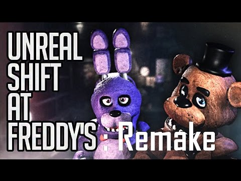 Unreal Shift at Freddy's: Remake (Gameplay)