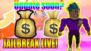 Roblox jailbreak!! reacting to roblox battles premiere video at 3pm est!!