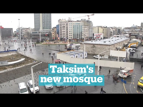 Does Taksim Square need a new mosque?