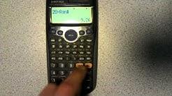Generating random numbers on a calculator