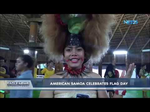 American Samoa Celebrates Flag Day