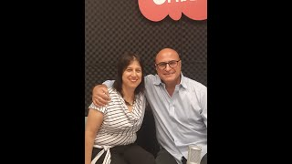 Ohad Zuckerman with Dr. Michal Levy, SVP Agriculture Innovation