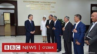 Президент Мирзиёевга пули тўланмаган бино кўз-кўз қилиндими?