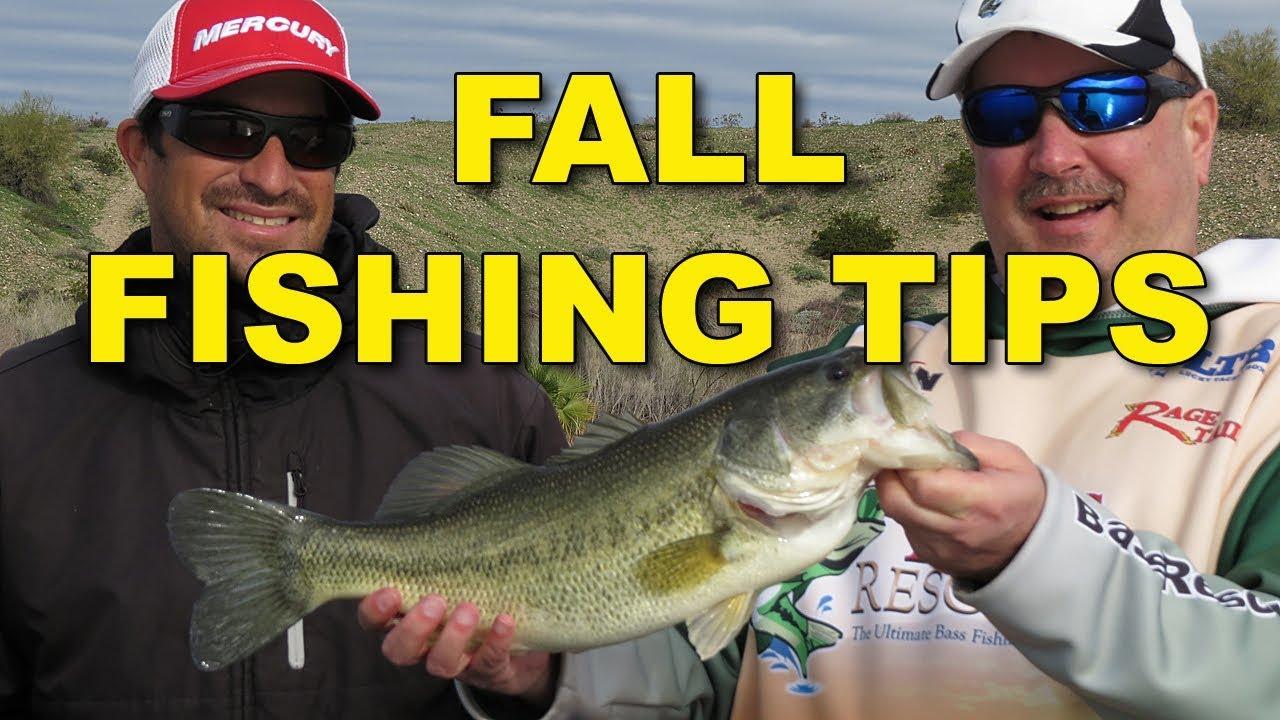 fall bass fishing tactics bass fishing youtube