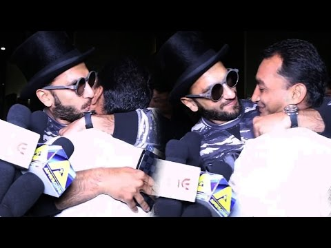 Ranveer Singh KISSES MALE Reporter in Public - It Is A Gay?